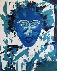 saatchi art artist janice alexander painting voodoo vibe african american woman women s faces