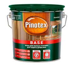 <b>Грунтовка PINOTEX Base</b> деревозащитная купить по цене от 480 ...