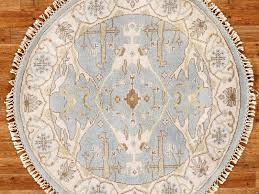 image of round area rugs target style