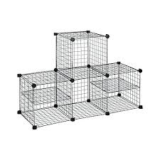 metal storage cubes metal storage shelves home depot grid wire modular shelving and storage cubes bed