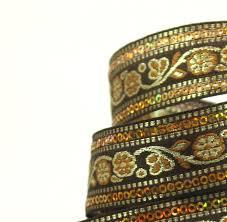 Decorative Fabric Trim Black Decorative Fabric Trim Last 2 Yards Of Beautiful Sequinned