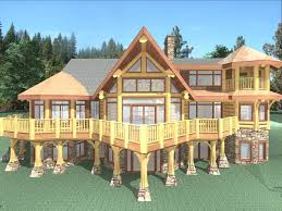 Stillwater 4235 Sq Ft Log Home Kit Log Cabin Kit Mountain Ridge Log Home Plans Luxury