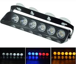 Police Car Light Bar For Sale Us 15 19 35 Off Aicarkas 1 Pcs 6 Led Flashlight Car Led Strobe Light Bars White Blue And Amber Emergency Lamp Police Light Bar For Sale 12v In
