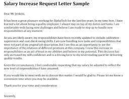 Requesting A Raise Template Salary Increase Letter Template Request Uk Format Of