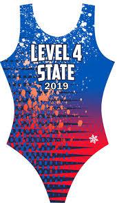 Level 4 State Gymnastics Leotard 2019