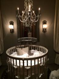 Round Crib from Baby & Child Restoration Hardware - Refunk My  Junkthat's it . That's my baby room .