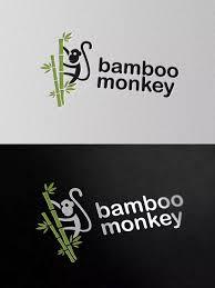 Skillshare Logo Design Fundamentals Simple And Solid Brand Marks Bamboo Monkey Logo Template Ai Eps Psd Logo Design