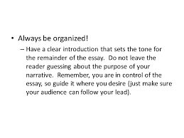 narrative essay what is a narrative essay when writing a  8 always