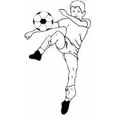 Bimbo Che Gioca A Calcio Da Colorare Disegni Da Colorare E