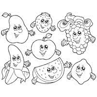 Small Picture Veggie Coloring Pages Fruit And Fruits With Best Page Of Animals