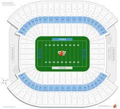 Tennessee Titans Stadium Virtual Seating Chart Tennessee Titans Club Level Seats At Nissan Stadium