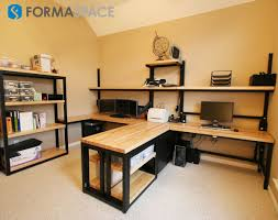 custom home office furnit. Custom Home Office Suite | FORMASPACE Before This Makeover, The Room Lacked Furnit