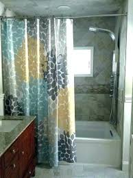 decorative shower curtains with tiebacks in living room curtain hooks liners stall liner bathrooms pretty
