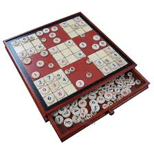 Sudoku Wooden Board Game Instructions Ruby Red Wood Sudoku Board Game Set with Drawer Extra Large 100 29