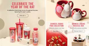 Purchase a starbucks gift card and give a gift of a great coffee at starbucks. Starbucks S Pore Selling Rat Themed Mugs Tumblers And Other Collectibles For Lunar New Year Moneydigest Sg