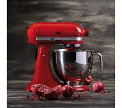 sentinel kitchenaid artisan 5ksm125ber stand mixer empire red