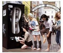 Shoe Vending Machine Gorgeous Introducing The Shoe Vending Machine