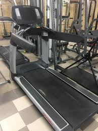life fitness 95t ene treadmill with large lcd console w tv