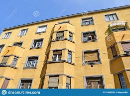 Id Design Talpiot Bauhaus Style Apartment Building In The City Stock Photo