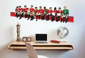 Manchester United Bedroom Football Wall Sticker Gallery Manchester Evening News