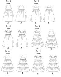 Dress Patterns For Toddlers Best McCall's 48 Toddlers'Children's Dresses