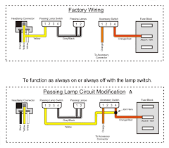 2006 harley davidson heritage softail wiring diagram 2006 new passing lamps install problems need help harley davidson on 2006 harley davidson heritage softail wiring