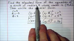 math love standard form of a linear equation writing equations in standard form and general of