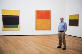works by mark rothko are on display at the the newly renovated national gallery of art