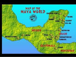 thurs maya city states Mayan Cities Map Mayan Cities Map #26 mayan city map