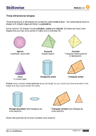 Worksheet. Three Dimensional Shapes Worksheets. Caytailoc Free ...