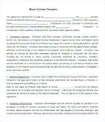 Business Contract Template Free Word Agreement Sample Pdf Literals ...