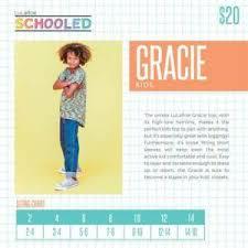 Lularoe Kids Size Chart Details About Lularoe Gracie Top Unisex Kids Nwt