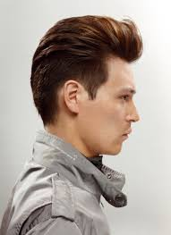 Hairstyles For Men To The Side Mens Hairstyle Shaved Side View From All Side Mens Short
