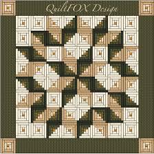 log cabin quilt pattern log cabin carpenter star king