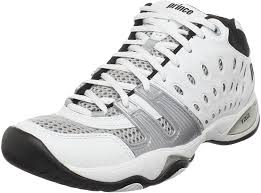 The largest database of tennis shoes for men and women with more than 210 styles from 14 these shoes have rubber nubs on the outsole that offer good grip even on wet grass. Amazon Com Prince Men S T22 Mid Tennis Shoe Tennis Racquet Sports
