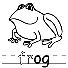 Small Picture Free Printable Frog Coloring Pages For Kids Animal Place