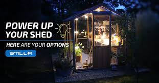 08 jun power up your shed here are your options