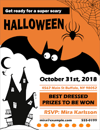 Flyer Poster Templates 017 Free Flyer Poster Templates Template Ideas Halloween For