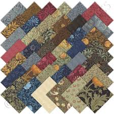 26 best Best of Morris Quilt images on Pinterest | Heaven, Heavens ... & Moda Best of Morris Charm Pack Fabric Squares Quilting Adamdwight.com