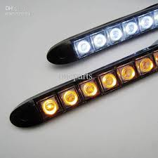 Automotive Led Light Strips Custom 32x 132 Led Flexible Light Strip With Turning Yellow Amber Light Auto