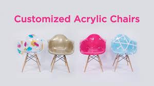 customized acrylic chair hobby lobby