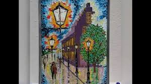 glass painting stained glass effect