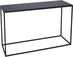 Black console table Rustic Console Tables Black Kensal Consoles Table Blacks Glass Top With Long Black Console Table Home Remodel Home Interior Designs Console Tables Black Kensal Consoles Table Blacks Glass Top With