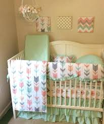 peach colored bedding rainbow crib bedding medium size of bedding design crib set peach gray c