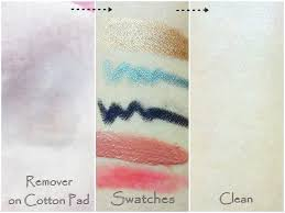 l oreal gentle lip eye makeup remover swatch l oreal gentle lip
