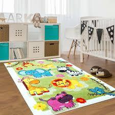 animal area rug