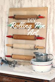Diy Kitchen Wall Art Easy Diy Rolling Pin Wall Art Fynes Designs Fynes Designs