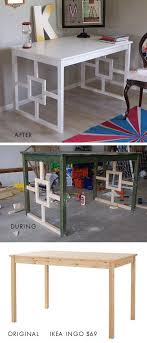 could do something like this to the secretarydiy ikea hack ikea ingo dining table desk makeover full step by step tutorial