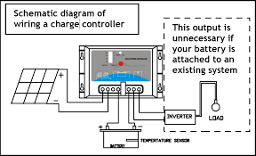 pin solar charge controller circuit diagram wiring