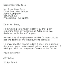 Letters Of Resignation Template Employee Resign Letter Or Resignation Accepting From Board